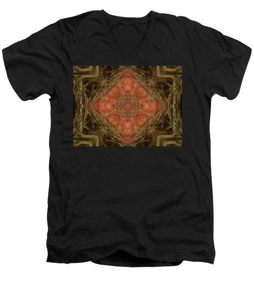Grace Mandala Men's V-Neck T-Shirt