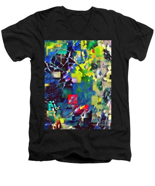 Graceful II Men's V-Neck T-Shirt
