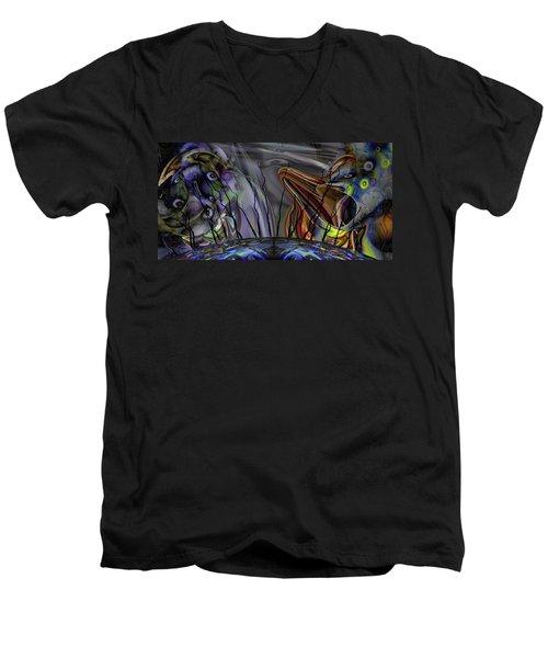Grade Point Men's V-Neck T-Shirt
