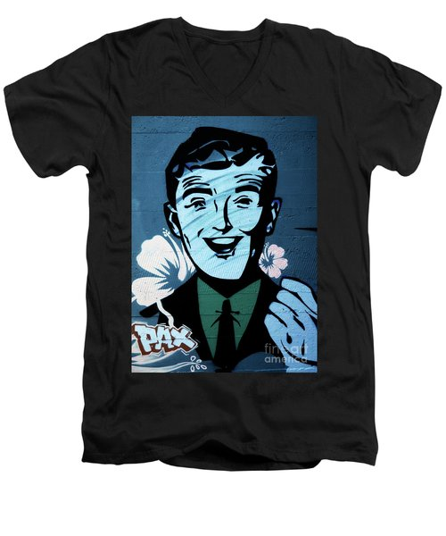 Graffiti_06 Men's V-Neck T-Shirt