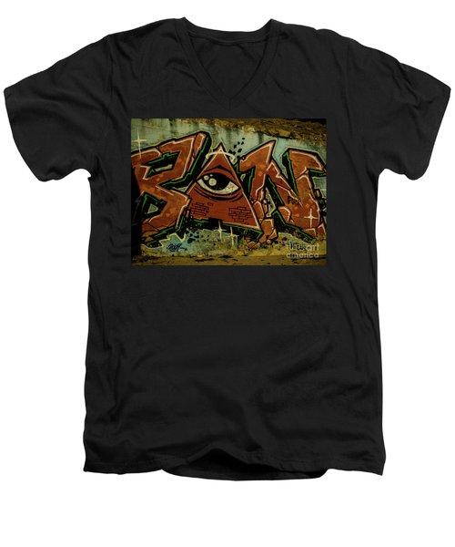 Graffiti_17 Men's V-Neck T-Shirt