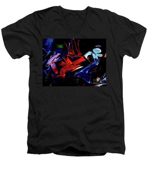 Graffiti_20 Men's V-Neck T-Shirt