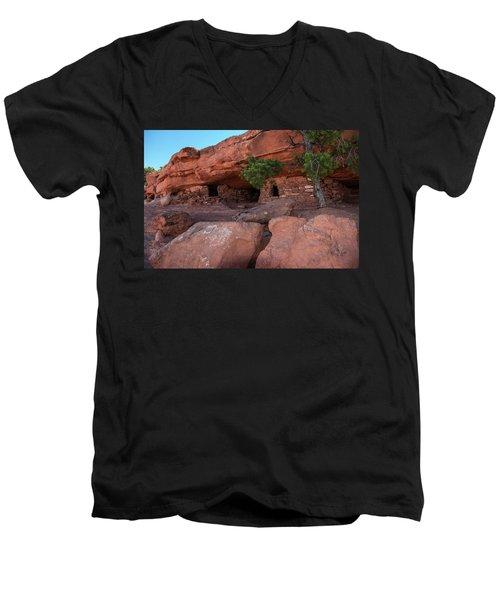 Granaries - 9697 Men's V-Neck T-Shirt