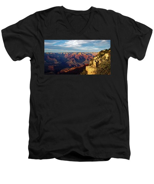 Grand Canyon No. 2 Men's V-Neck T-Shirt