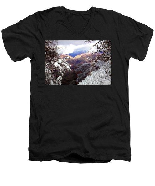 Grand Canyon Branch Men's V-Neck T-Shirt