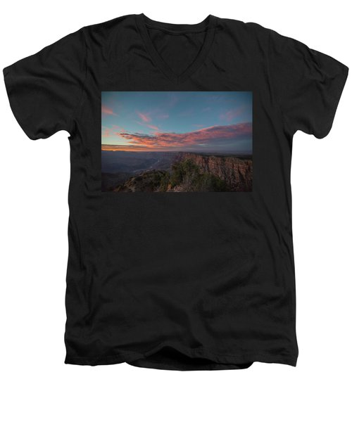 Grand Canyon Sunset 1943 Men's V-Neck T-Shirt