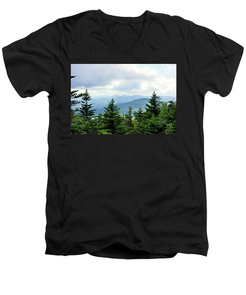Grandmother Mountain Men's V-Neck T-Shirt