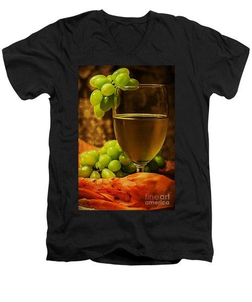 Grape Juice Men's V-Neck T-Shirt