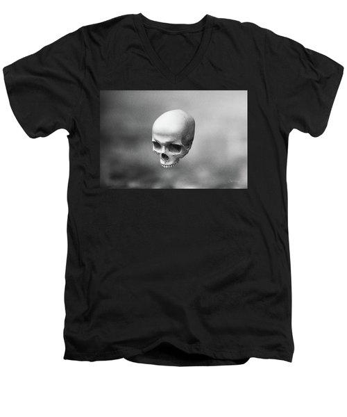 Gray Levity Men's V-Neck T-Shirt