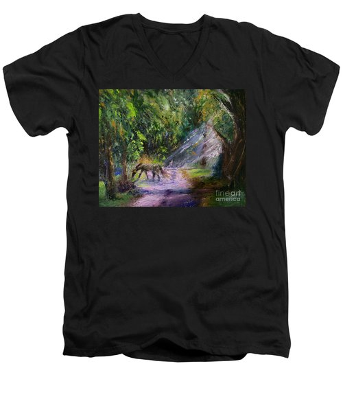 Grazin' In The Grass Men's V-Neck T-Shirt