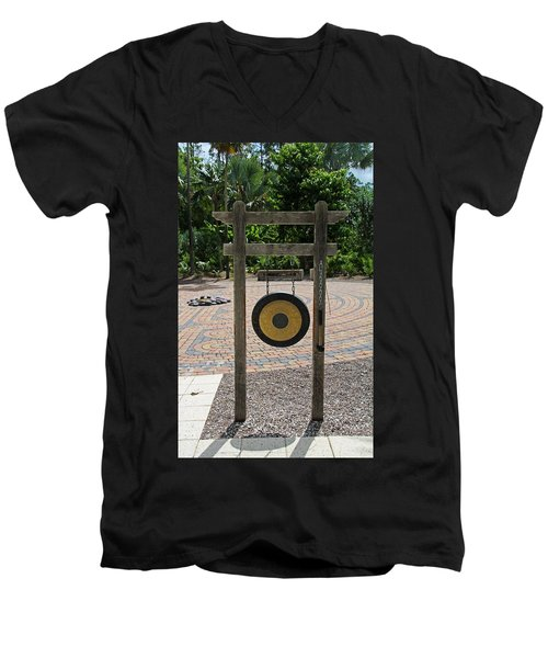 Men's V-Neck T-Shirt featuring the photograph Great Antiquity by Michiale Schneider