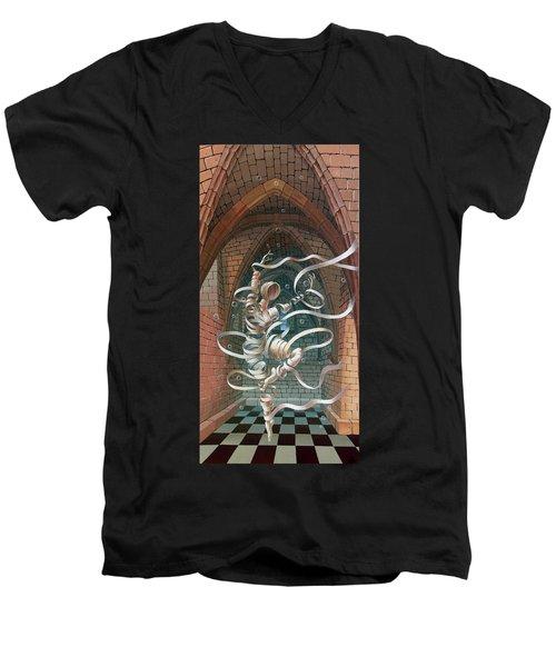Great Ghost Of Caesarea Men's V-Neck T-Shirt