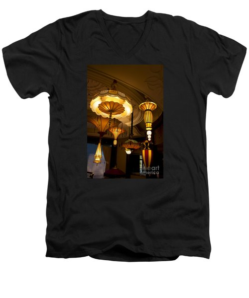 Great Lamps Men's V-Neck T-Shirt