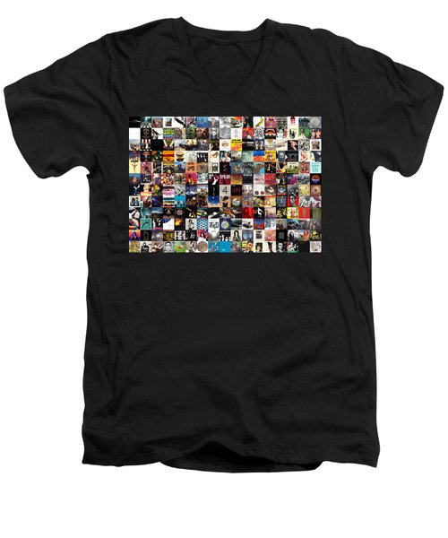 Greatest Album Covers Of All Time Men's V-Neck T-Shirt