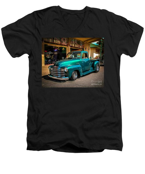 Green Dreams Men's V-Neck T-Shirt