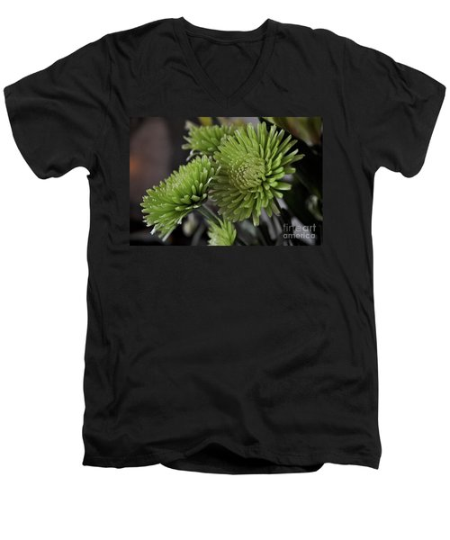 Green Mums Men's V-Neck T-Shirt