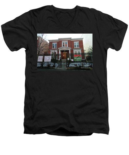 Greenpoint Reformed Church Men's V-Neck T-Shirt