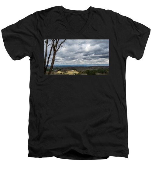 Grey Skies Men's V-Neck T-Shirt