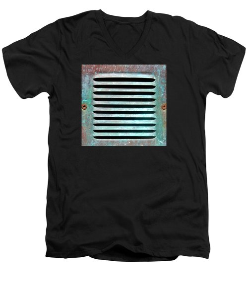 Verdigris Vent Men's V-Neck T-Shirt