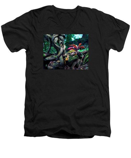 Grow Where You're Planted II Men's V-Neck T-Shirt