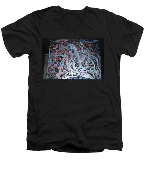 Growing Men's V-Neck T-Shirt