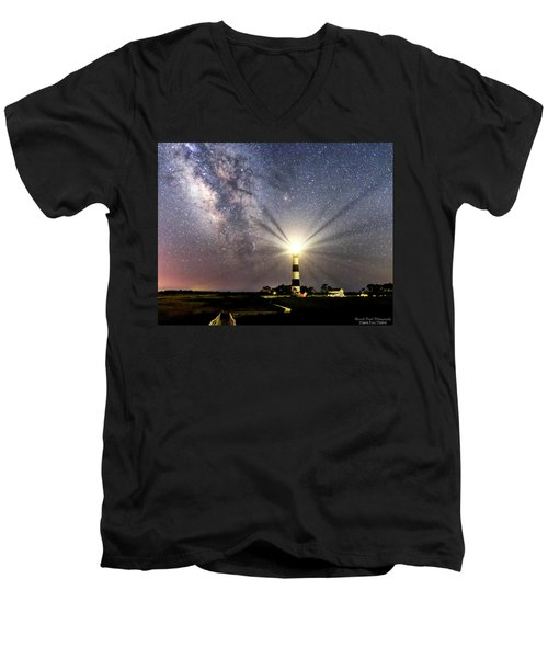 Guiding Light Men's V-Neck T-Shirt