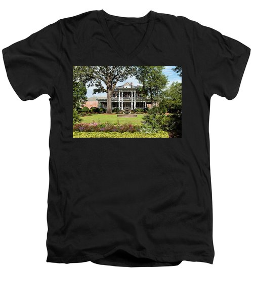 Guignard Mansion Men's V-Neck T-Shirt