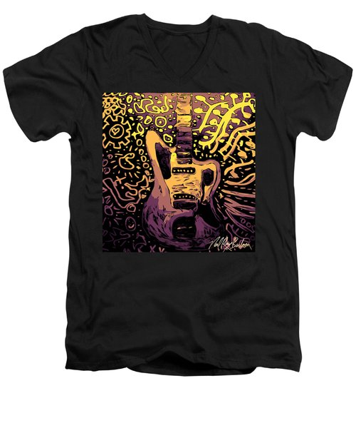 Guitar Slinger Men's V-Neck T-Shirt