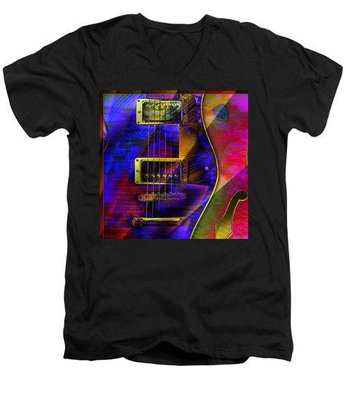 Guitars Men's V-Neck T-Shirt