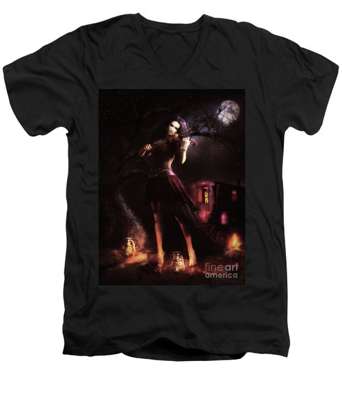 Gypsy Moon Men's V-Neck T-Shirt