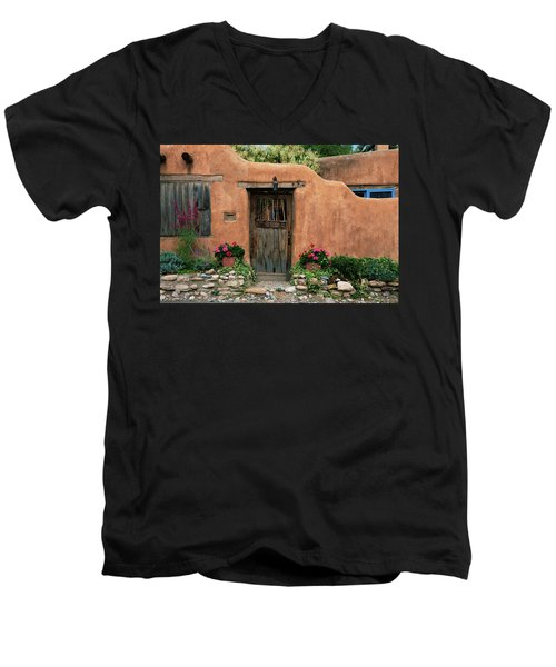 Hacienda Santa Fe Men's V-Neck T-Shirt