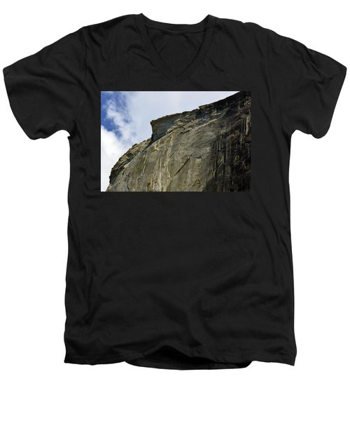 Half Dome With A View Of The Visor  Men's V-Neck T-Shirt
