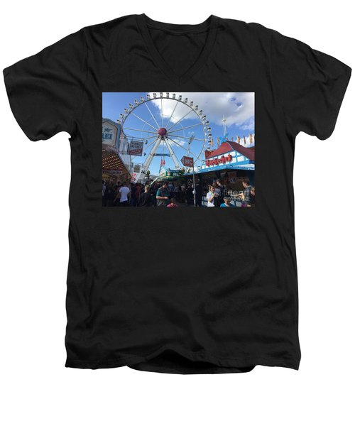 Hamburg, Germany Carnival  Men's V-Neck T-Shirt