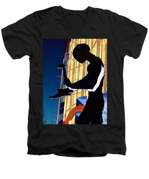 Hammering Man Men's V-Neck T-Shirt