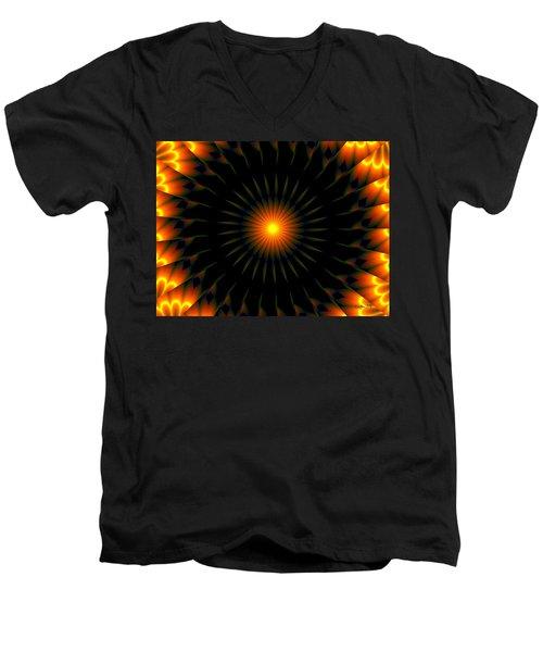Hammerstone Men's V-Neck T-Shirt by Robert Orinski