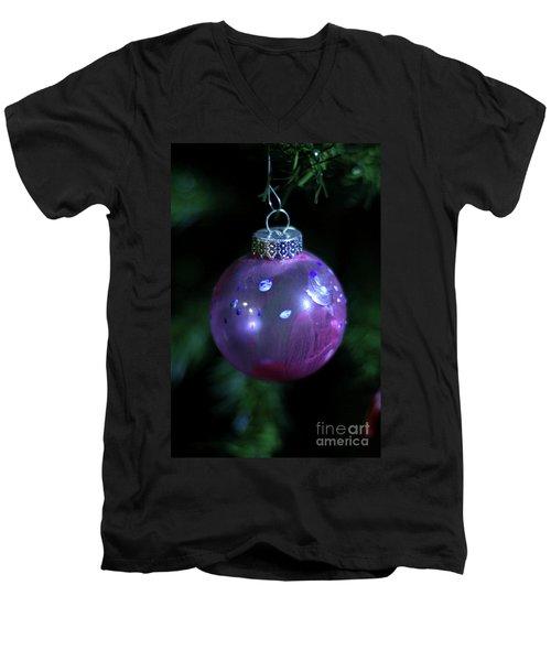 Handpainted Ornament 002 Men's V-Neck T-Shirt by Joseph A Langley