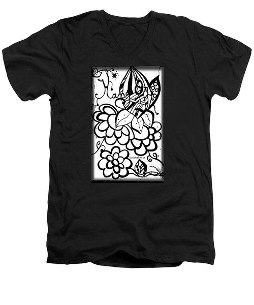 Hang On Men's V-Neck T-Shirt