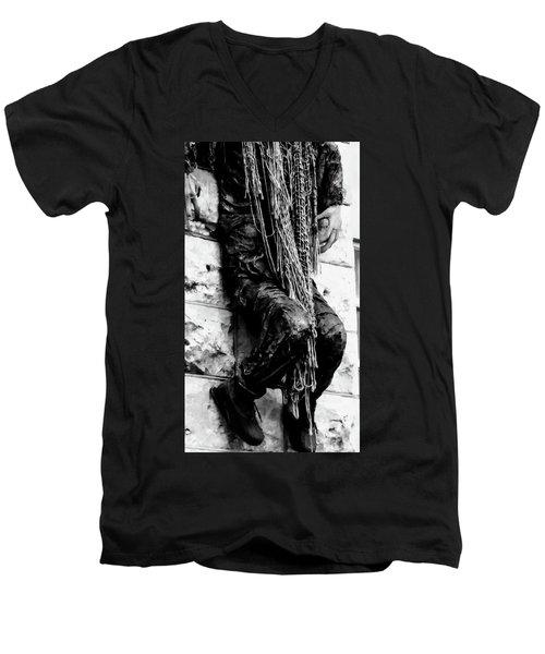 Hanging Around Men's V-Neck T-Shirt