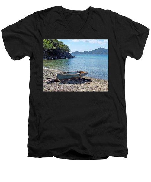 Hansen Bay 2 Men's V-Neck T-Shirt