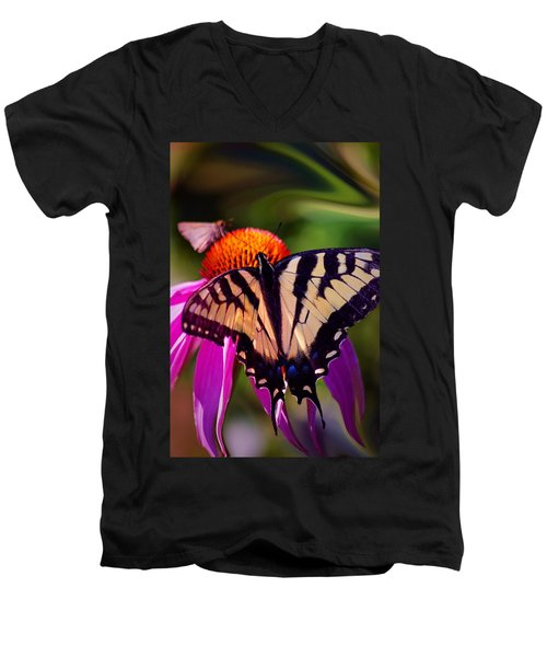 Happiness In Our Own Gardens... Men's V-Neck T-Shirt
