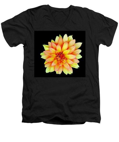 Happy Dahlia Men's V-Neck T-Shirt