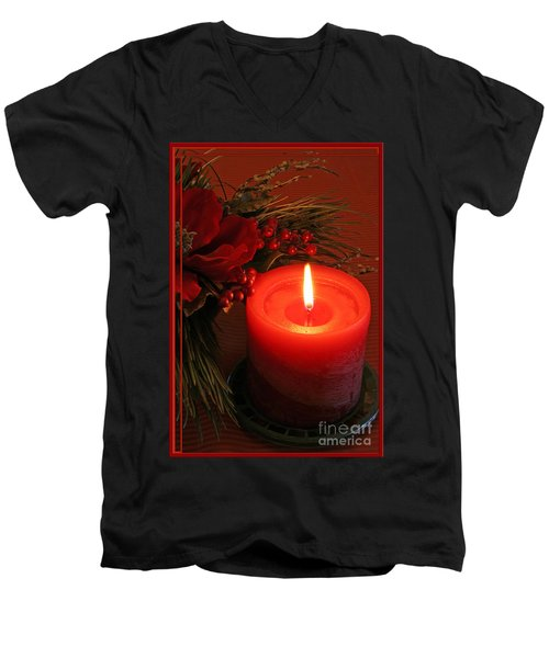 Happy Holidays #1 Men's V-Neck T-Shirt