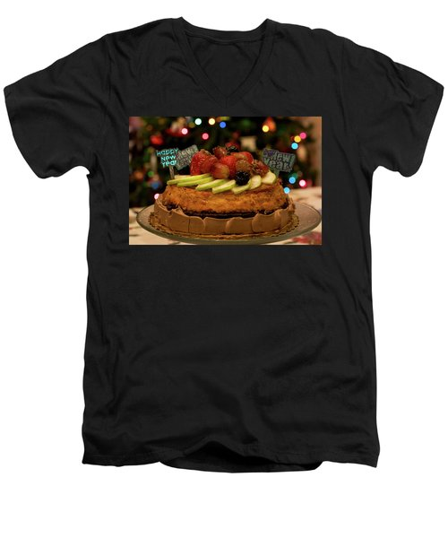 Happy New Year Men's V-Neck T-Shirt by Ivete Basso Photography