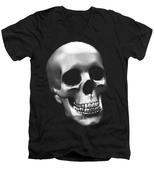 Happy Skull Men's V-Neck T-Shirt