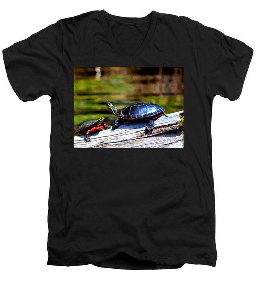 Happy Together  Men's V-Neck T-Shirt