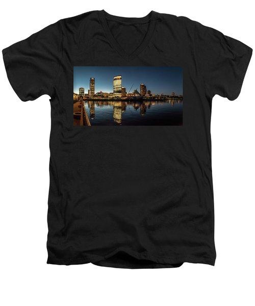 Harbor House View Men's V-Neck T-Shirt