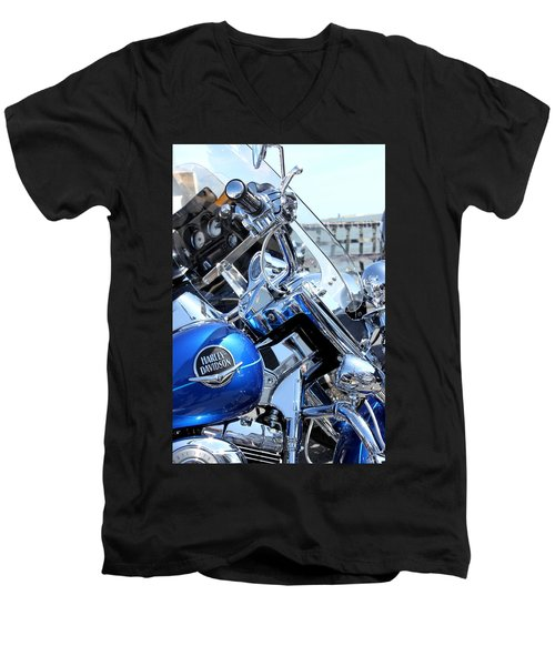 Harley-davidson Men's V-Neck T-Shirt