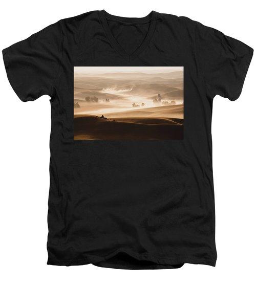 Harvest Dust Men's V-Neck T-Shirt