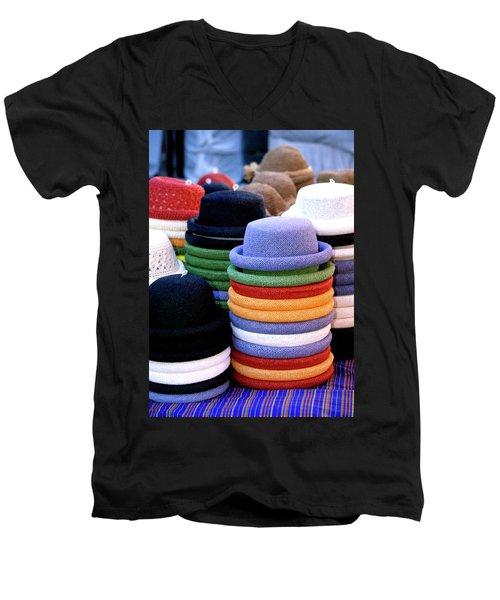 Hats, Aix En Provence Men's V-Neck T-Shirt