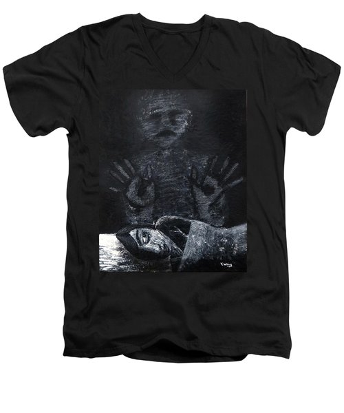 Haunted Men's V-Neck T-Shirt